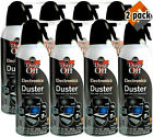 New Canned Air Falcon Dust-Off Compressed Computer Gas Duster 10 oz TOTAL 8 Pack