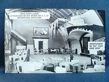 Postcard MD Grasonville Long Point Lodge Interior