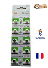 Lot de10 Pile bouton Alkaline LR626 377 AG4 Pour appareil électronique