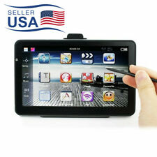 7'' Touch Screen Truck Car GPS Navigation Navigator With Free Maps Audio 8GB USA