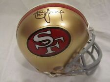 Steve Young Autographed San Francisco 49ers Mini Helmet - Young Hologram