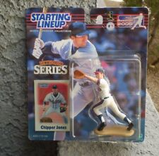 STARTING LINE UP COLLECTIBLES CHIPPER JONES & GREGG MADDUX 2000