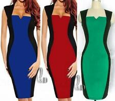AU SELLER Sexy Womens Bodycon Cocktail Party Office Slim Pencil Dress dr137
