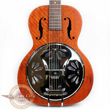 Gretsch G9200 Boxcar Roundneck Resonator Guitar Acoustic Spider Cone Demo