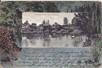 uralte AK, Reichenbach im Vogtland, Partie aus dem Stadtpark 1904 Litho????