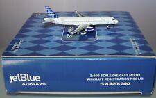 Gemini GJBU197B Airbus A320-232 JetBlue N504JB in 1:400 scale