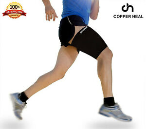 Thigh Compression Recovery Sleeve by Copper HEAL Highest Copper Infused Content
