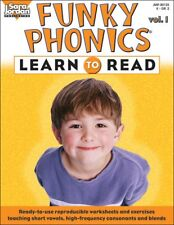 Funky Phonics Volume 1 - Learn To Read - Brudzynski - PAPERBACK - VERY GOOD