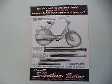 advertising Pubblicità 1978 MARMITTE SILENTIUM e PIAGGIO CIAO 50
