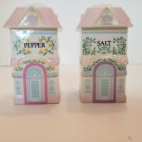 The Lenox Village Salt & Pepper Shakers1991 collection