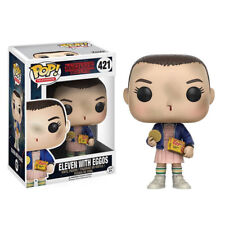 Funko POP! Stranger Things: Eleven With Eggos - Netflix Vinyl Figure 421 NEW