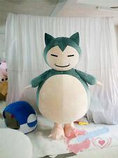Brand Pokemon GO Snorlax Kabigon Mascot pikachu Cosplay game party Costume Adult