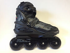 Roces Dodge negro freeskate inline skates 80 mm patines talla 41 sale unisex