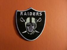 Oakland raiders nfl  Embroidered 3 x 3 Iron Or Sew On Patch