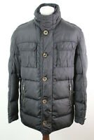 MASSIMO DUTTI Black Down Puffer Jacket Size L