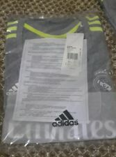 Real Madrid women away football shirt size S/8-10 Adidas 2015 2016 BNWT