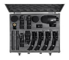 Xlr 20 Ft Cables, 7-Piece Drum Mic Kit, Large Diaphragm Condenser, Shure Sm48