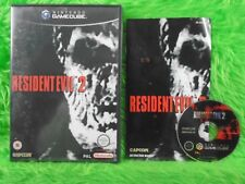 gamecube RESIDENT EVIL 2 A Survival Horror Capcom Game Nintendo PAL UK Version