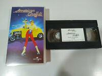 American Graffiti George Lucas Francis Ford Coppola VHS Tape Spanish