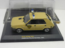 SEAT RITMO 75 CL POLICE 1981 ALTAYA 1/43 NEUVE SOUS BLISTER