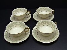 Lenox China NOBLESSE Cups and Saucers / Set of 4