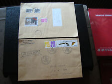 FRANCE - 2 enveloppes 2002 2003 (cy39) french
