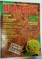 HIGH TIMES DISCO DROIDS VINTAGE DEC 1977 MARIJUANA MAGAZINE NOS WEED 420 N/M