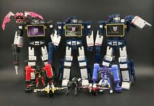 Transformers Masterpiece Soundwave Soundblaster MP-13 MP-13B MP02 TAKARA HASBRO