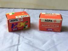 N. 2 Pellicole scadute 24x 36 mm Agfa Color