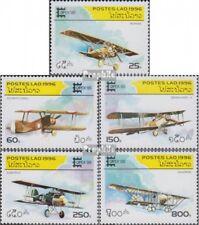 Laos 1526-1530 (complète edition) neuf avec gomme originale 1996 avions de comba