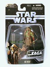Hasbro Star Wars Saga Kit Fisto Called a Batalla 3.75 Figura
