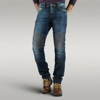 Men's Motorbike Motorcycle jeans Reinforced denim with Protective Lining JOGGERS