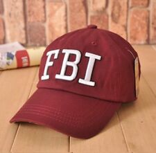 FBI Leisure embroidery CAP Unisex Baseball Caps Hat Men Women Black White Navy