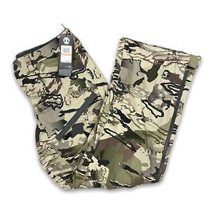 Under Armour UA Grit Barren Camo Men's Hunting Pants Size 34 1347443-999