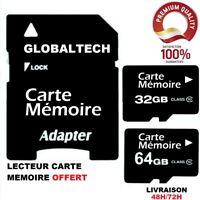 Carte Mémoire Classe 10 SD SDHC SDXC 32Go/64Go Universelle
