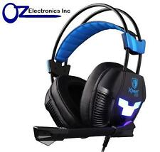 SADES Xpower Plus PC Gaming Headset SA-706s Noise Reduction Mic Chat NEW Genuine