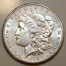 1902 S Morgan Silver Dollar - Choice BU / MS / UNC