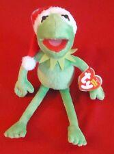 "TY Beanie Baby - Disney - KERMIT the Frog Santa Hat - Walgreens Exclusive 9.5"""