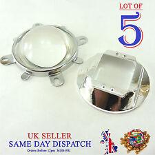 5x conjunto de Hágalo usted mismo 57mm Lente + + Soporte Fijo Reflector Colimador Diodo LED 100W