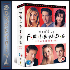 FRIENDS -  COMPLETE SERIES SEASONS 4 5 6 & 7  **BRAND NEW BOXSET*