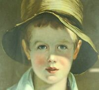 The Torn Hat by Thomas Sully painting print from Detroit Publishing Company