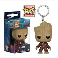 Funko Pocket Pop Keychain: Guardians Of The Galaxy Vol. 2 Groot Bobble-Head Toy