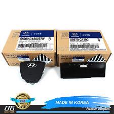 Genuine Steering Wheel & Knee Air Bag for 15-17 Hyundai Sonata Oem 56900C1500Try