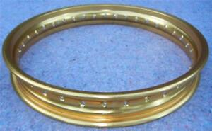 WM3 2.15 X 19 - 36 DID gold anodized alloy DIRT FLAT TRACK racing motorcycle rim