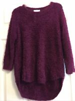 Chenille Sweater Mulberry PXL New Directions NWT $54