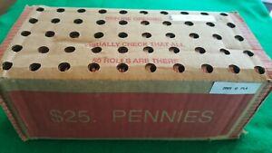 Sealed $25 BOX - 2009-D LP4 LINCOLN PENNY CENT OBW BU ROLLS (50 rolls)