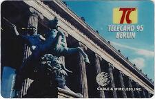 TK Telefonkarte 4m Telecard Berlin 1995 Aufl. 1000