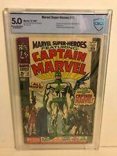 Marvel Super-Heroes #12 CBCS 5.0 1st Captain Marvel, 1st Yon Rogg 🔑 Key 1967
