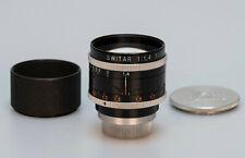 Kern Switar 1.4 50mm // H8 RX Bolex C Mount