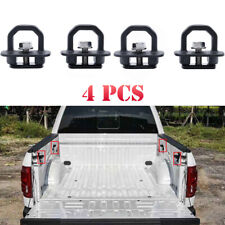 4x Car accessories Tie Down Anchor Truck Bed Side Wall Anchors for fit GMC Chevy